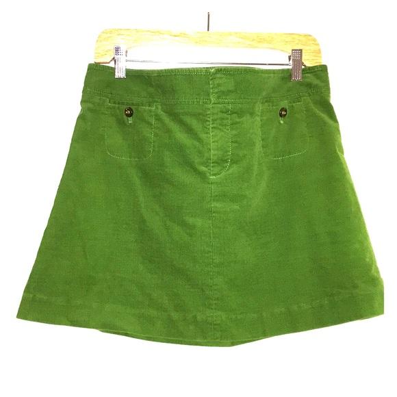 75ae5f963 Lilly Pulitzer Skirts | Kelly Green Corduroy Mini Skirt | Poshmark